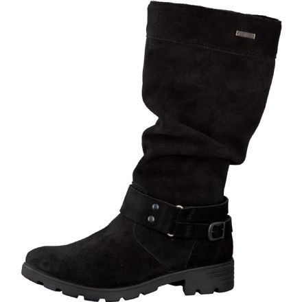 Ricosta RIANA Waterproof Slouchy School Boots (Black)